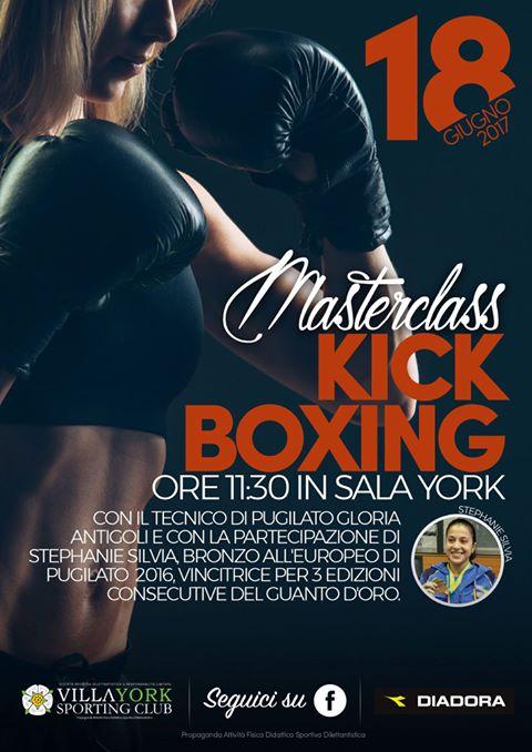 Master kickboxing