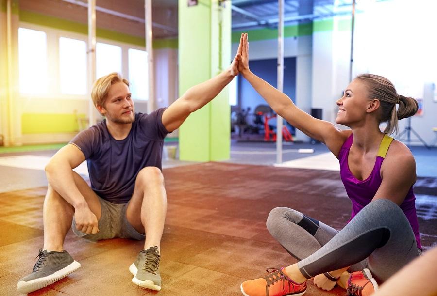 Fitness: 4 motivi per farlo in coppia